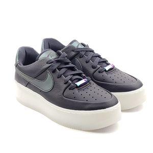 Nike Air Force 1 Sage Low LX Black Oil Grey shoes